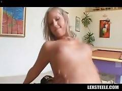 Busty White Chick Rides Thick Black Dick 3